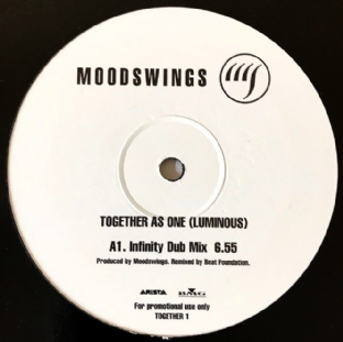 "Moodswings ‎- Together As One (Luminous) (12"") (Promo) (G++/G)"